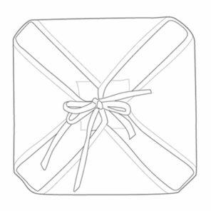 Galette de chaise anti-taches ? rabats Lotus fuschia