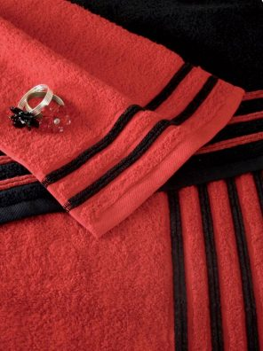 Drap De Bain 100x150 cm 100% Coton - 550 Gr/M2 - Vert