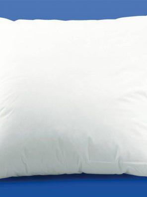 Lot de 2 oreillers 60x60 - Anti-acariens - Fibre creuse siliconnée