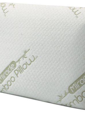 Oreiller ergonomique 40x60 cm A mémoire de forme - Anti-allergique Fibre de bambou