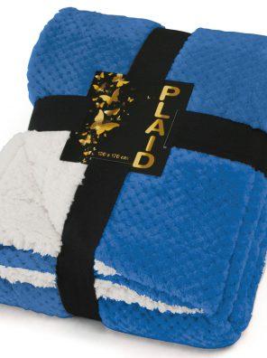 Plaid Doux et Moelleux - Bleu